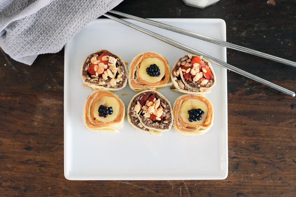 Cute and Sweet Breakfast Sushi