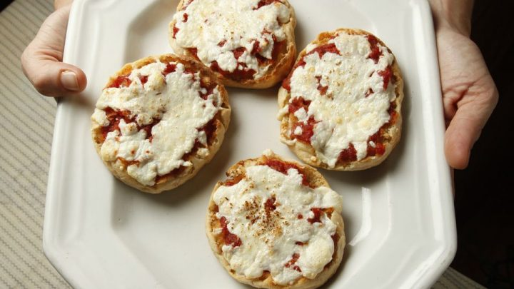 English Muffin Pizzas for Breakfast