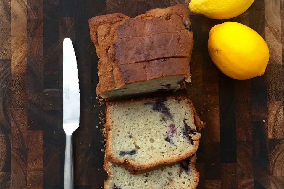 Low Fat Lemon Blueberry Loaf Recipe