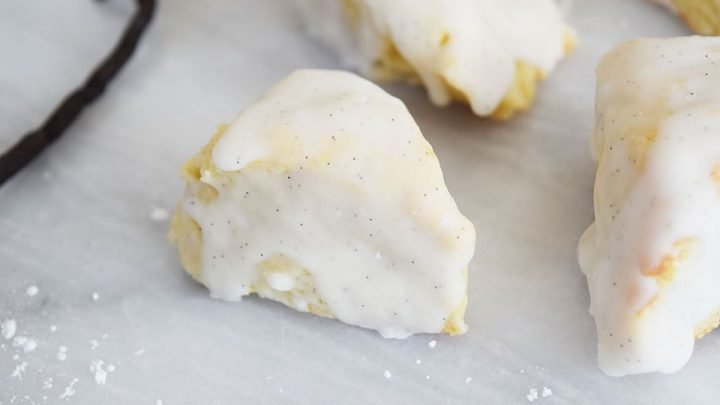 Petite Vanilla Bean Scones Recipes