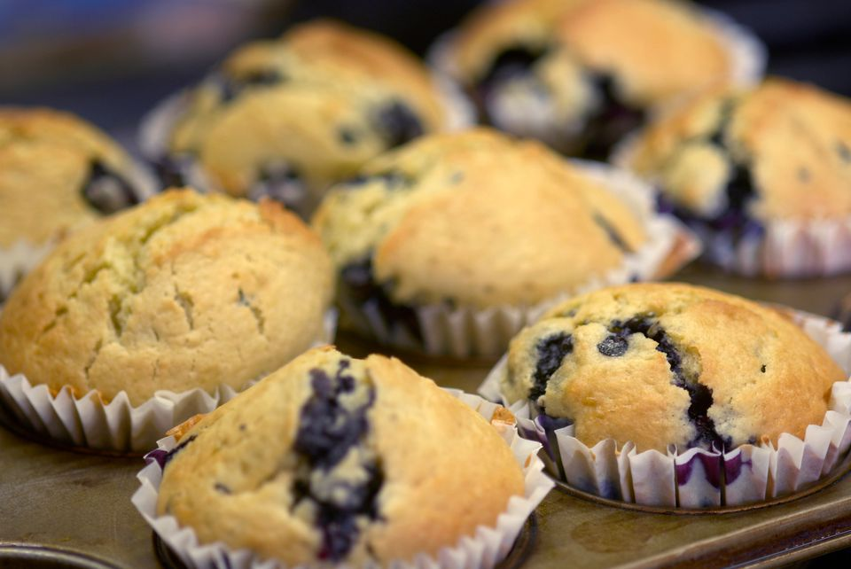 Easy Homemade Blueberry Muffins Recipe