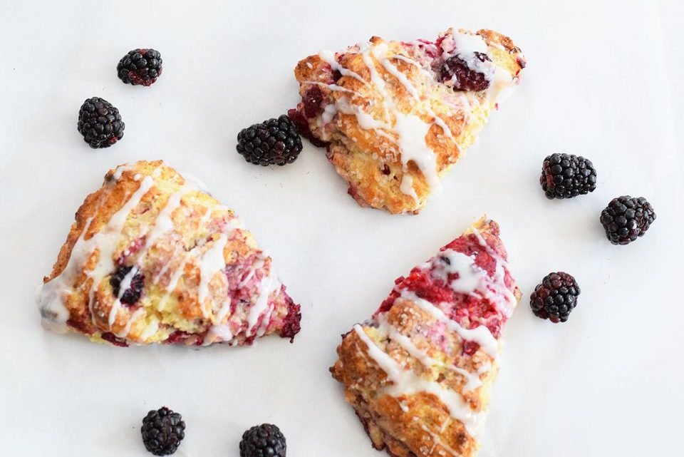 Sweet Berry Scones Are a Beautiful