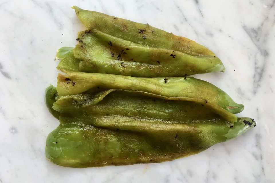 Roasted Green Chiles Recipe