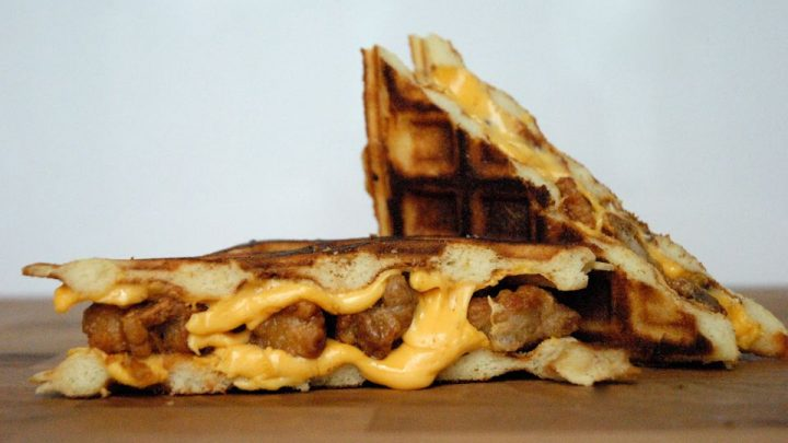 Fried Chicken and Waffle Grilled Cheese Sandwich Recipe