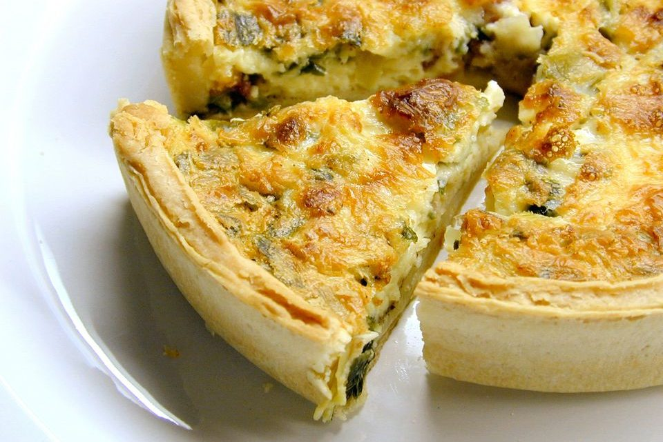 Crab Quiche With Cheese Recipe