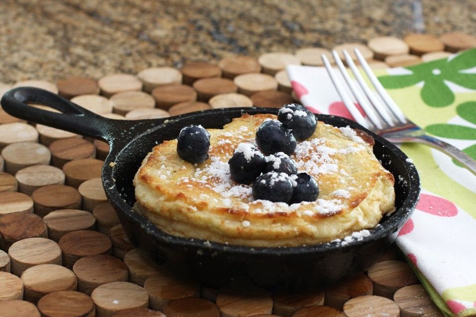 Single-Serve Dutch Baby Pancake Recipe