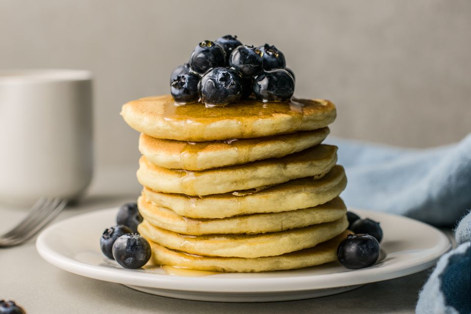 Clinton Street Baking Co. Blueberry Pancakes Recipe