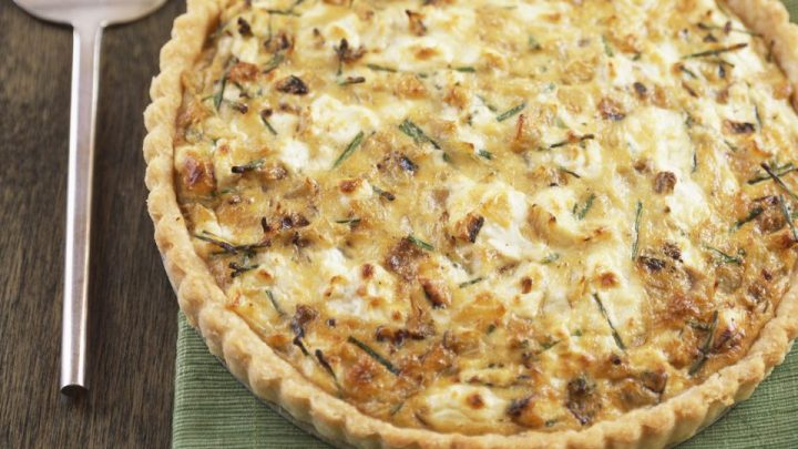 High Protein Cheese and Sausage Quiche Recipe