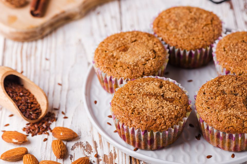 Gluten-Free Flax Meal and Almond Flour Muffins Recipe