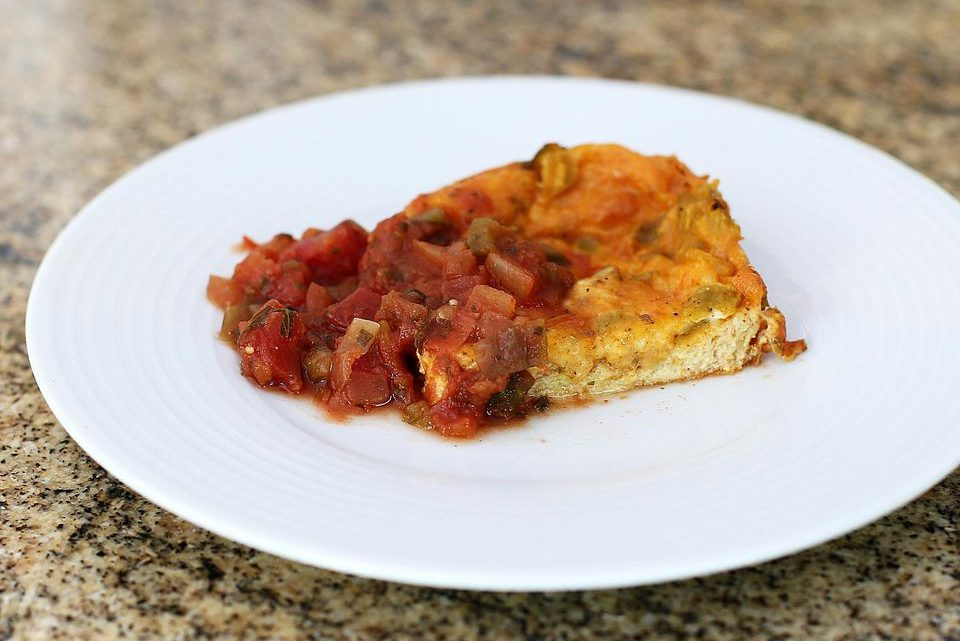 Chiles Rellenos Casserole with Cheese